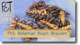 Pt 3 Bohemian Beach Bracelet - Polymer Clay Tutor