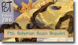 Pt 5 Bohemian Beach Bracelet - Polymer Clay Tutor