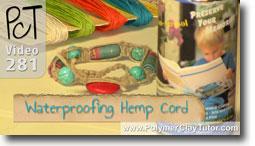 Waterproofing Hemp Cord