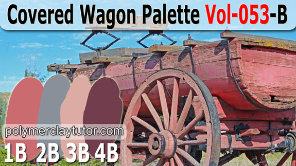 Covered Wagon Color Palette by Polymer Clay Tutor