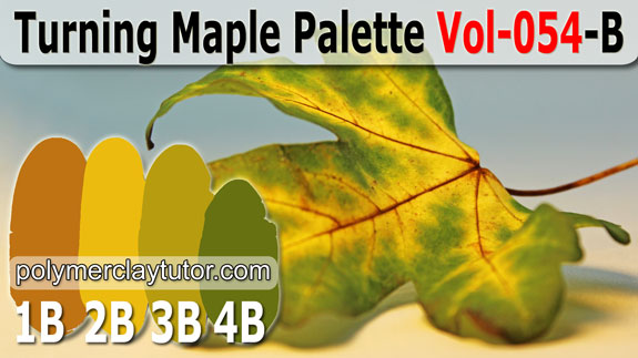 Turning Maple Color Palette by Polymer Clay Tutor