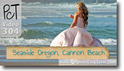 Cindy Lietz Polymer Clay Tutor Seaside Oregon Cannon Beach