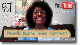 Michelle Adams PcT Roadtrip Video Comment