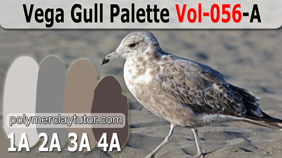 Vega Gull Color Palette by Polymer Clay Tutor