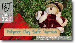 Polymer Clay Tutor Christmas Tree