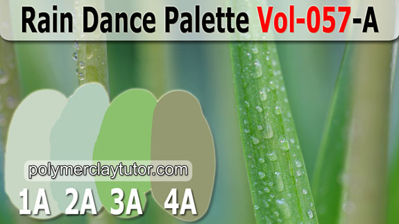 Rain Dance Color Palette by Polymer Clay Tutor