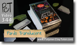 Pardo Professional art Clay Translucent Polymer Clay