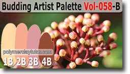 Budding Artist Palette by Polymer Clay Tutor