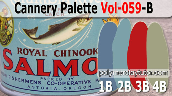 Cannery Color Palette by Polymer Clay Tutor