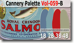 Cannery Palette by Polymer Clay Tutor