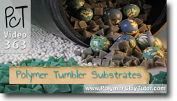 Polishing Polymer Clay In A Rock Tumbler