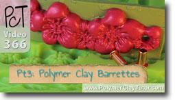 Pt 3 French Barrettest - Polymer Clay Tutor
