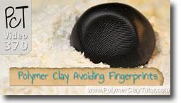 Avoiding Fingerprints on Polymer Clay