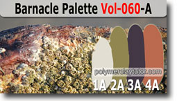 Barnacle Palette by Polymer Clay Tutor