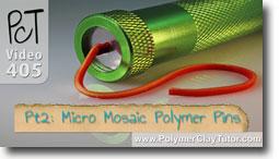 Pt 2 Liquid Polymer Transfers - Polymer Clay Tutor