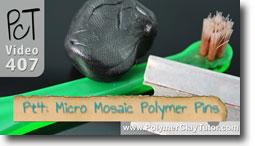 Pt 4 Liquid Polymer Transfers - Polymer Clay Tutor