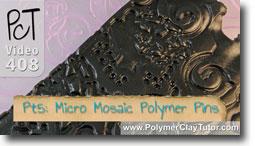 Pt 5 Liquid Polymer Transferst - Polymer Clay Tutor