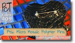 Pt 6 Liquid Polymer Transfers - Polymer Clay Tutor