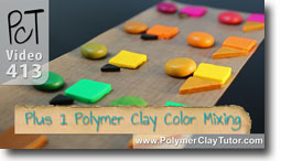Plus 1 Polymer Clay Color Technique