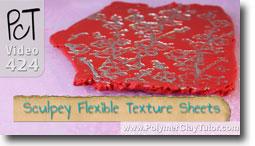 Sculpey Flexible Texture Sheets