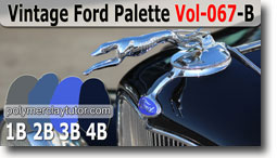 Vintage Ford Palette by Polymer Clay Tutor