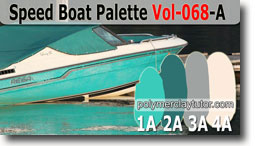 Speed Boat Palette by Polymer Clay Tutor