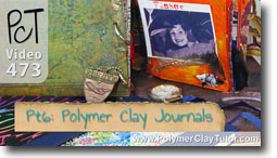 Pt 6 Polymer Clay Journals & Altered Books - Polymer Clay Tutor