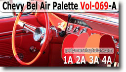 Chevy Bel Air Palette by Polymer Clay Tutor