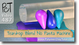 How to make a Teardrop Blend without using a Pasta Machine