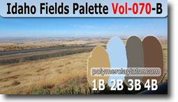 Idaho Fields Palette by Polymer Clay Tutor