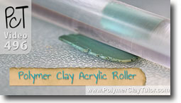 Essential Polymer Clay Tools - Acrylic Roller