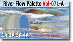 River Flow Palette by Polymer Clay Tutor