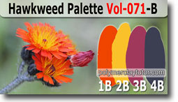 Hawkweed Palette by Polymer Clay Tutor