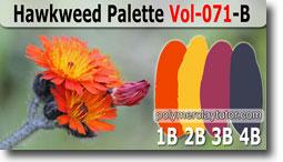 Hawkweed Palette by Polymer Clay Tutor
