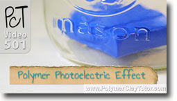 Polymer Clay Photoelectric Effect