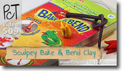 Sculpey Bake And Bend Polymer Clay