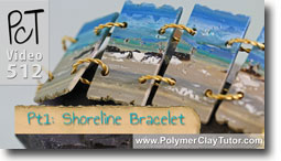 Shoreline Bracelet Tutorial - Polymer Clay Tutor