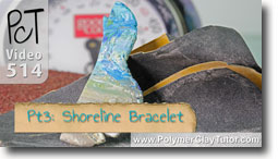 Pt 3 Shoreline Bracelet Tutorial - Polymer Clay Tutor