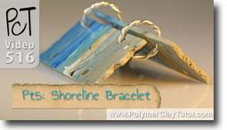 Pt 5 Shoreline Bracelet Tutorial - Polymer Clay Tutor