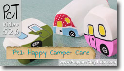 Happy Camper Cane Tutorial - Polymer Clay Tutor