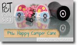 Pt 6 Happy Camper Cane Tutorial - Polymer Clay Tutor