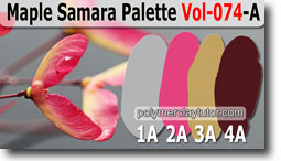 Maple Samara Palette by Polymer Clay Tutor