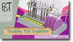 Sculpey Tool Organizer