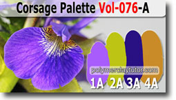 Corsage Palette by Polymer Clay Tutor