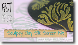 Sculpey Clay Silk Screen Kit