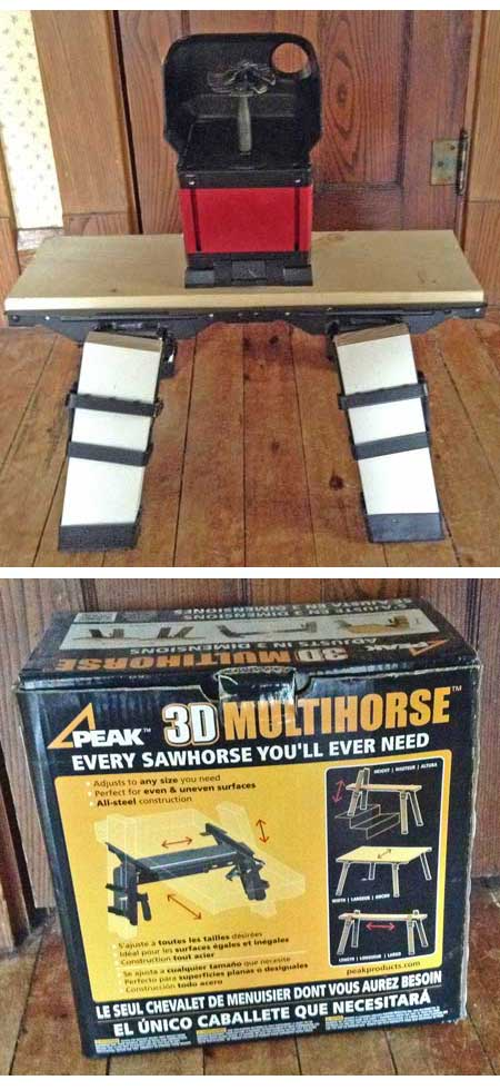 JoolTool Sawhorse Table