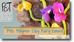 Pt 5 Fairy Doors Tutorial - Polymer Clay Tutor