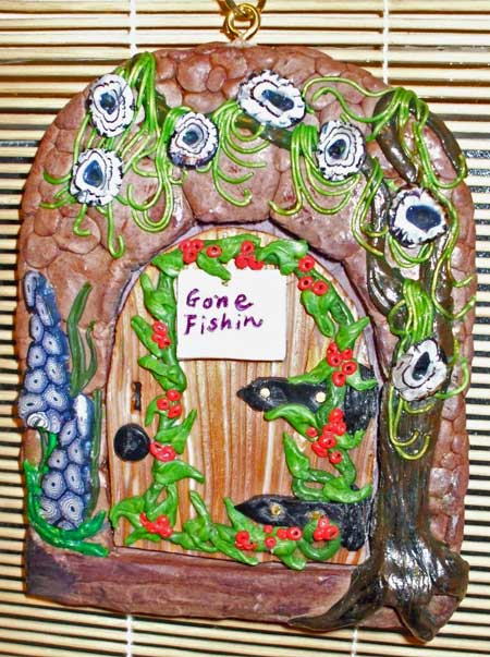 Elaine Faulks Polymer Clay Fairy Door