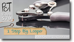 1 Step Big Looper - Polymer Clay Tutor