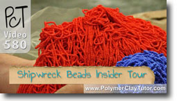 Shipwreck Beads Insider Tour - Polymer Clay Tutor